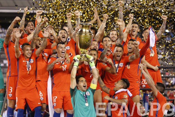 Чили - победитель Копа Америка-2016