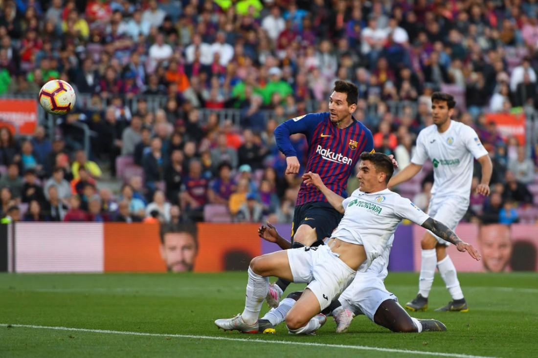 Барселона победила Хетафе