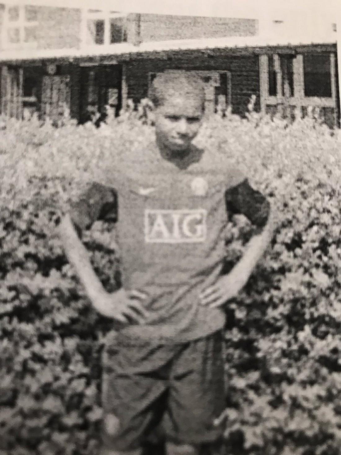 Маркус Рашфорд в 11 лет