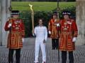 Праздник приближается. Олимпийский огонь прибыл в Лондон
