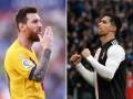 Месси и Роналду - самые высокооплачиваемые футболисты года