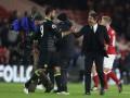 Форвард Атлетико: У меня были проблемы с Конте за пределами футбольного поля