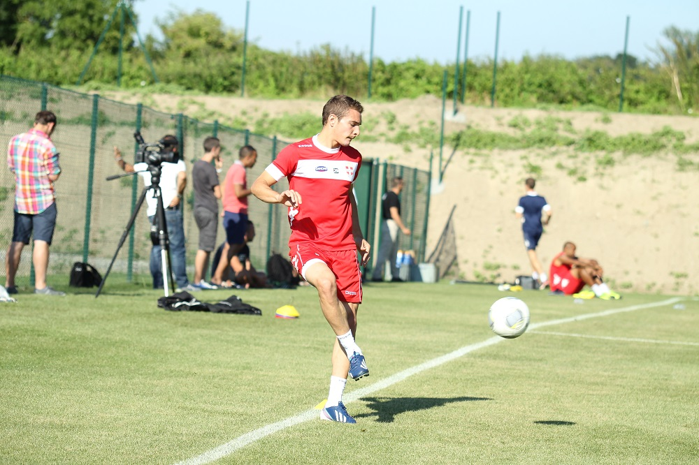 Марко Рубен тренируется во Франции
