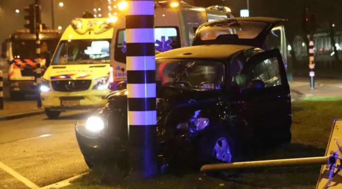 Авария, в которую попал Агуэро два года назад
