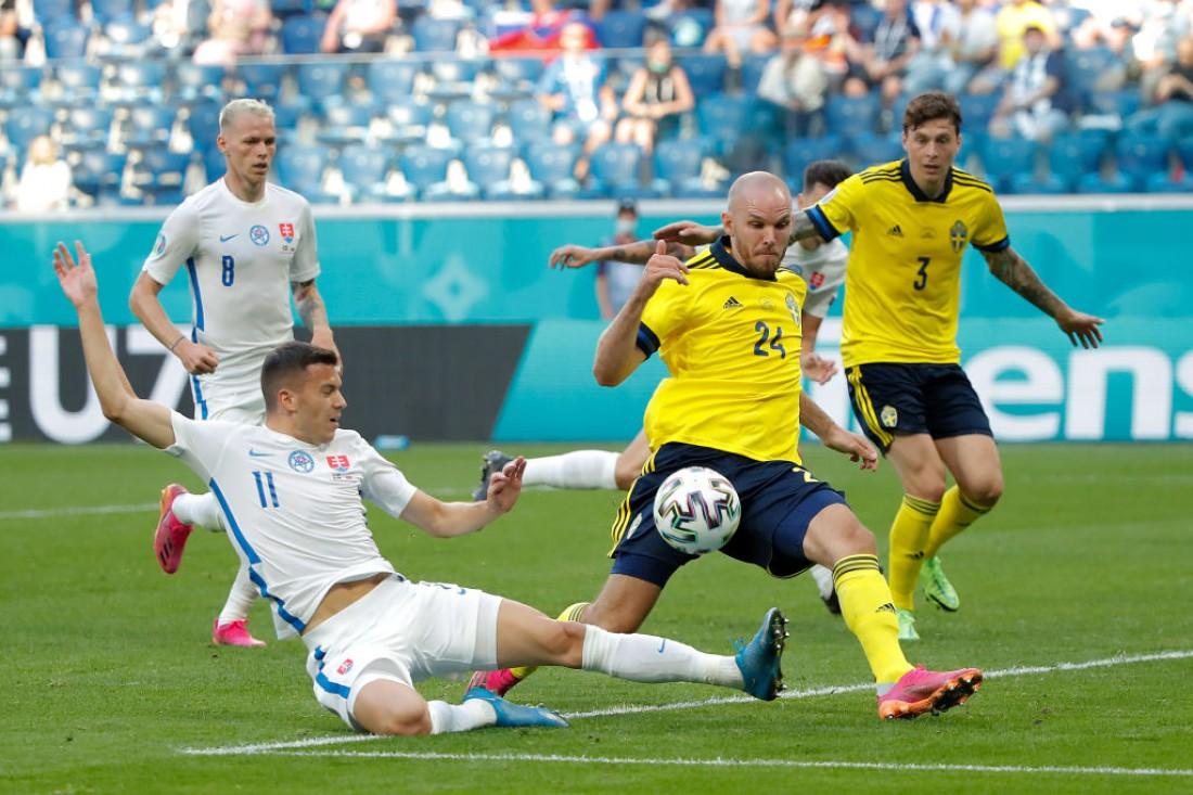 Сборная Швеции - сборная Словакия