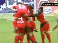 Иранских футболистов строго наказали за конфуз во время празднования гола
