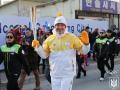 Бубка пронес олимпийский огонь на завершающем этапе эстафеты
