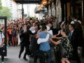 Бензема подвергся нападению фаната во время американского турне