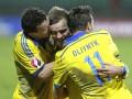 Фотогалерея: Как сборная Украины Люксембург обыграла