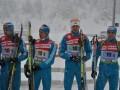 Биатлон. Мужская сборная Украины провалила эстафету на чемпионате мира