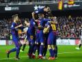 Барселона сыграла вничью с Валенсией, отыгравшись в концовке встречи