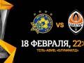 Маккаби Тель-Авив - Шахтер 0:0 онлайн-трансляция матча Лиги Европы