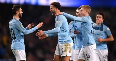 Манчестер Сити - Бертон 9:0 видео голов и обзор матча Кубка английской лиги