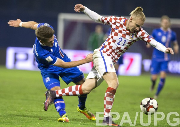 Хорватия одержала победу над Исландией