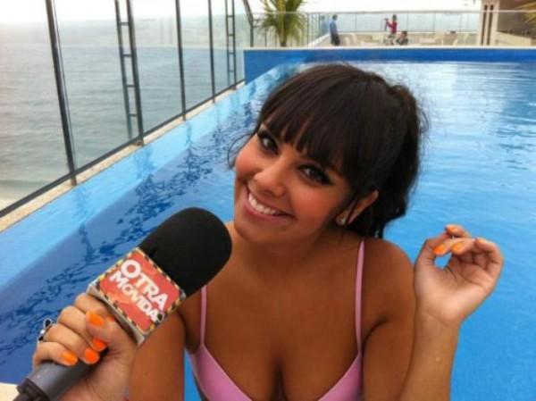 Кристина Педроче - сексапильная ведущая испанского ТВ