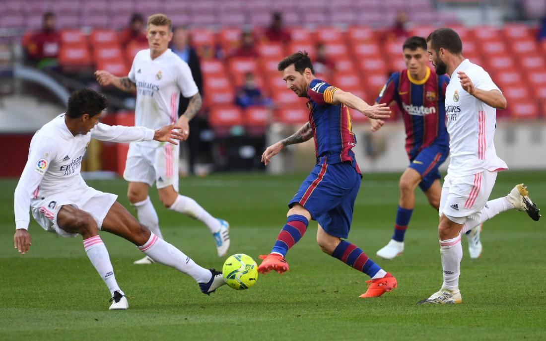 Реал обыграл Барселону