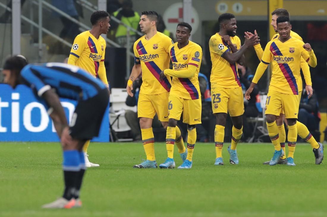 Интер - Барселона: видео голов и обзор матча