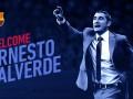 Вальверде - новый тренер Барселоны