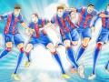 Такими вы их еще не видели: Игроки Барселоны в стиле аниме