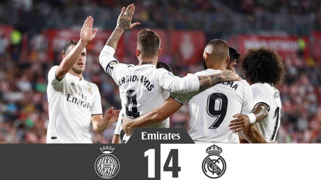 Жирона - Реал видео голов и обзор матча