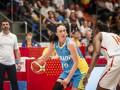 Украинки уступили сборной Испании во втором матче Евробаскета