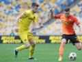 Шахтер — Днепр-1 2:1 видео голов и обзор матча чемпионата Украины