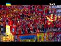 Запорожские ультрас спели гимн Украины вместо прервавшейся записи