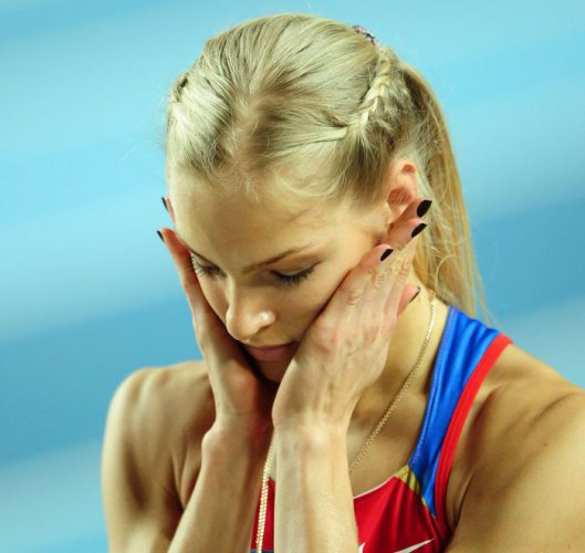 Спортсменка не сдержала слез