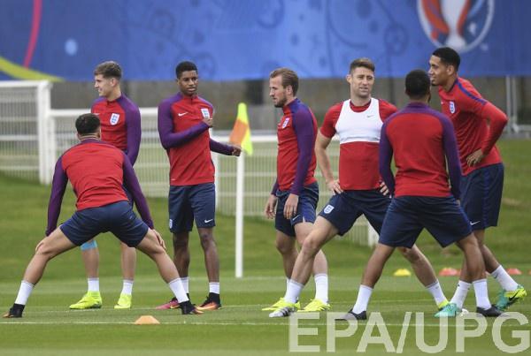 Англия - Исландия: Стартовые составы команд