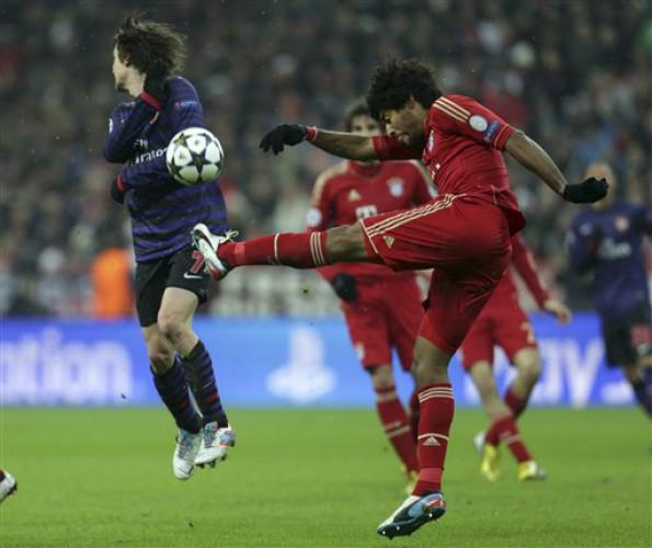 Бавария отбилась от Арсенала
