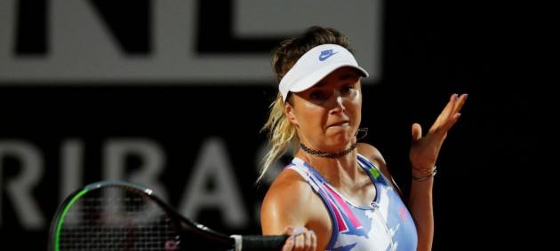 Свитолина вышла в 1/4 турнира в Риме