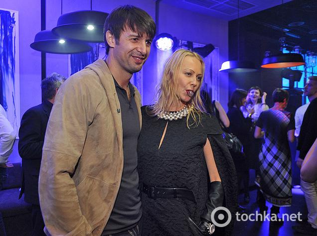 Шовковский перед Fashion Week успел заехать на открытие ресторана INK
