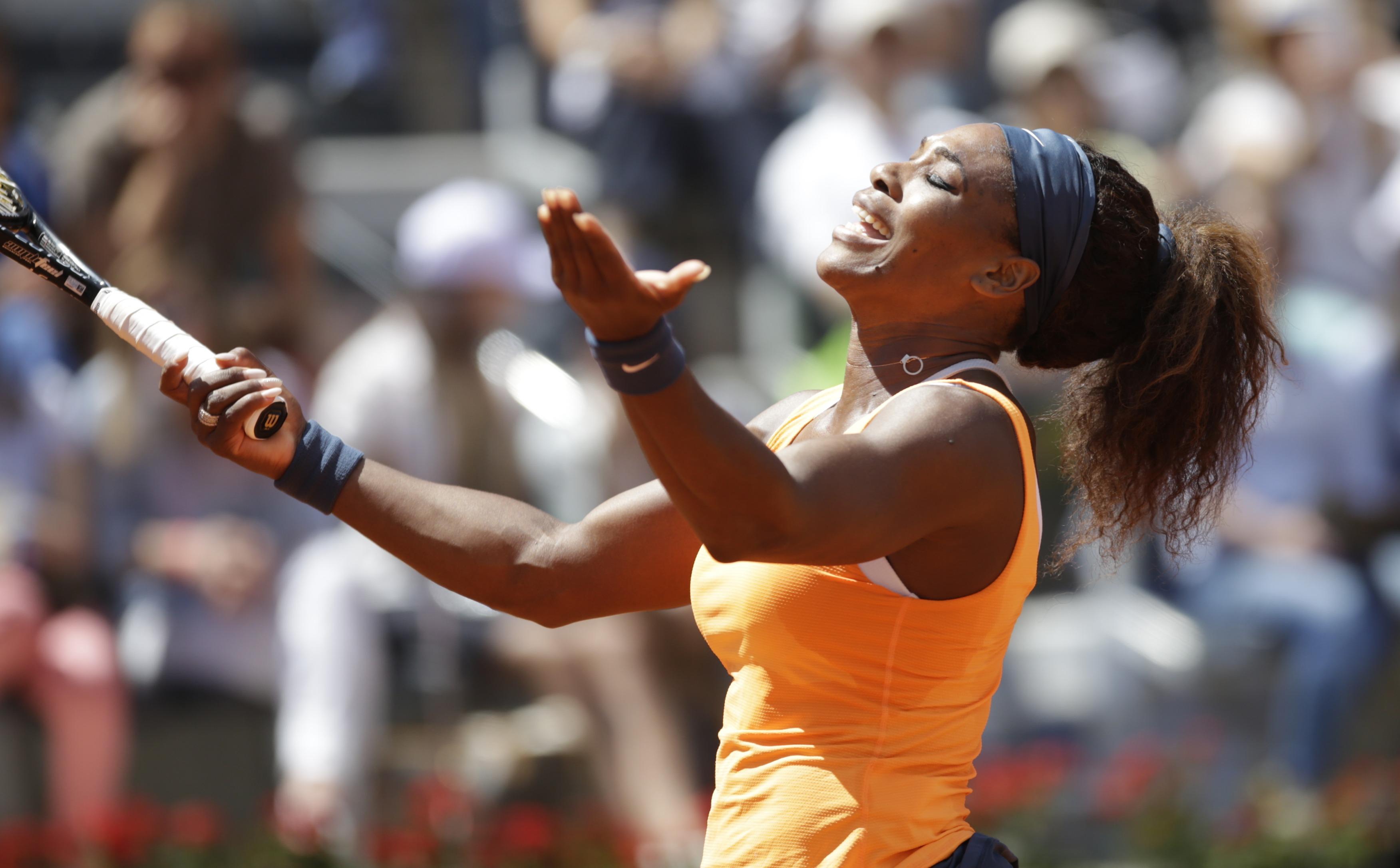 Серена Уильямс выиграла Мастерс в Риме