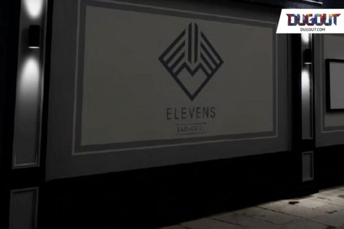 Футболист назвал заведение Elevens