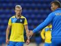 Ракицкий пробросил мяч мимо ног Зинченко на тренировке сборной