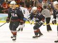 Хоккей: США выходит в финал, разгромив сборную Финляндии