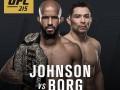 UFC 215: главный бой вечера Джонсон – Борг отменен