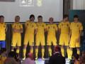 Костюмчик для Евро-2012. Новая форма сборной Украины по футболу