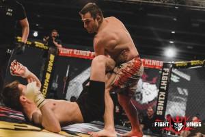 В Киеве состоялся первый турнир мирового стандарта по смешанным единоборствам F1GHT K1NGS