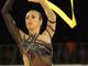 Итальянская гимнастка сеет веет