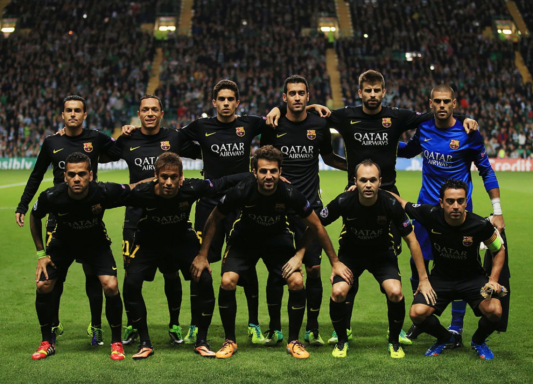 Форма Барселоны в сезоне-2013/14