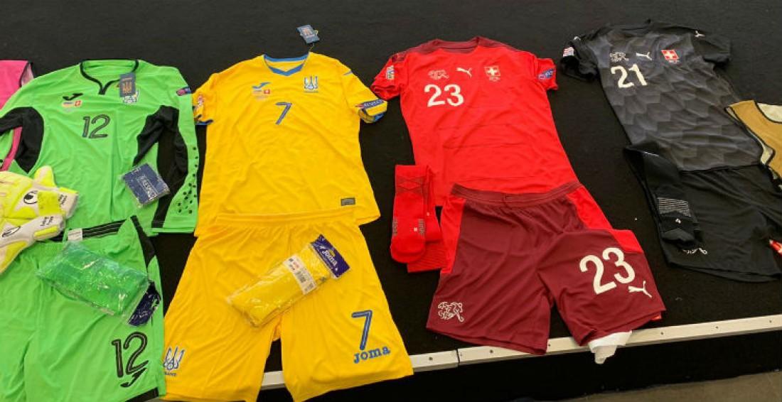 Формы Украины и Швейцарии на матч Лиги наций