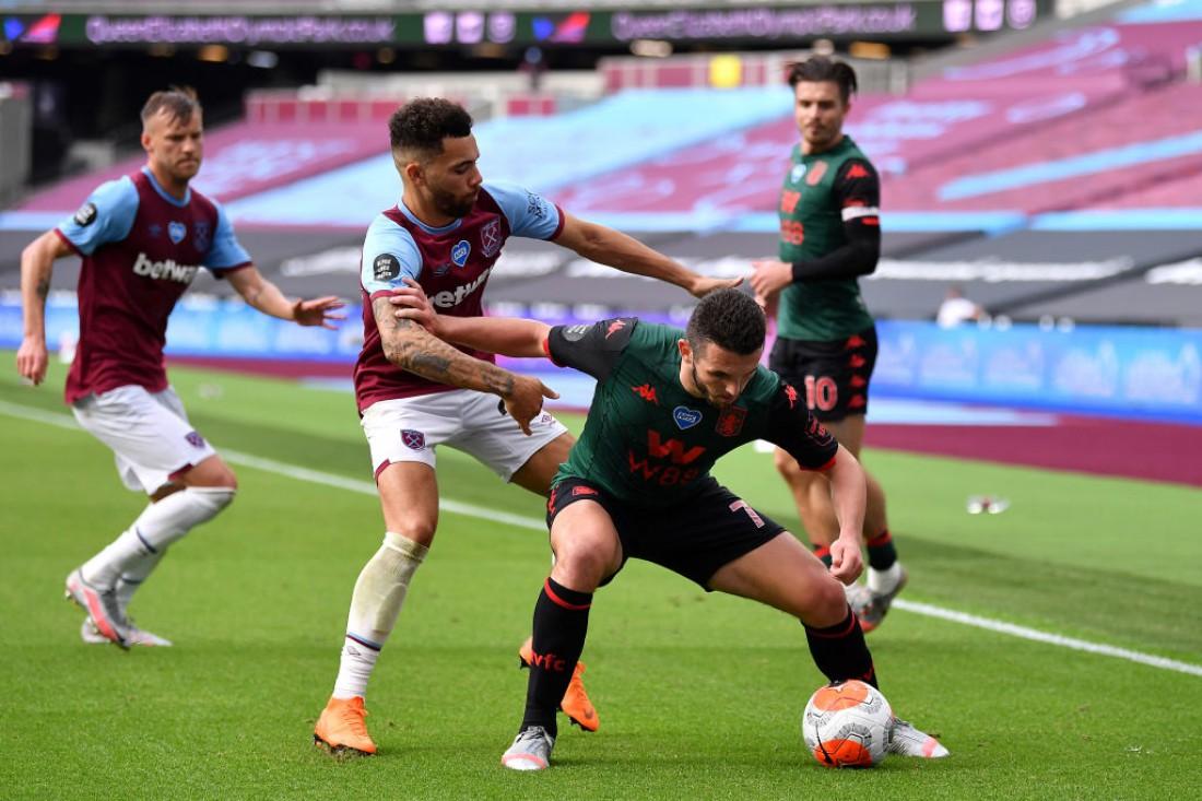 Вест Хэм - Астон Вилла: видео голов и обзор матча