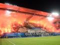 Польские фанаты устроили необыкновенное шоу на стадионе