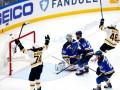 Кубок Стэнли: Бостон крупно обыграл Сент-Луис и сравнял счет в финальной серии