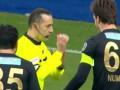 Арбитр назначил пенальти за игру рукой вратаря в своей штрафной