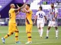 Барселона минимально обыграла Вальядолид, продолжив борьбу за чемпионство