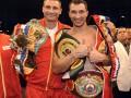 Всё в семью. Братья Кличко собрали главные чемпионские титулы в супертяжелом весе
