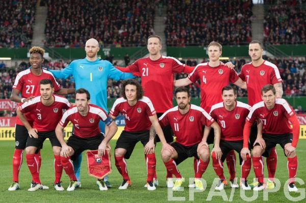 Австрия огласила расширенную заявку на Евро