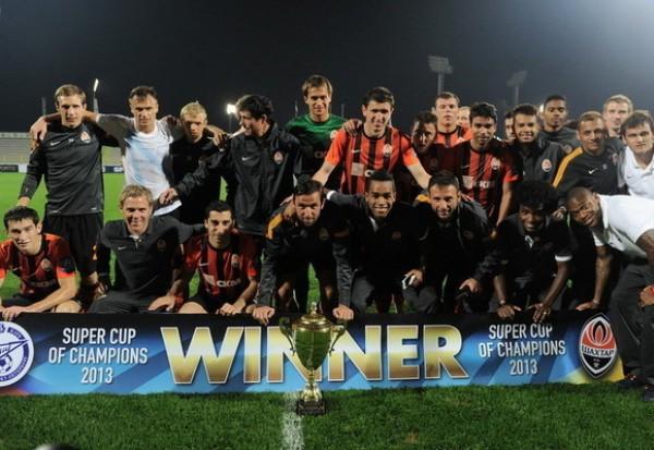 Шахтер - победитель Суперкубка Чемпионов